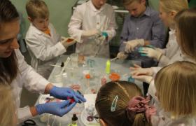 Бесплатный мастер-класс по увлекательной химии