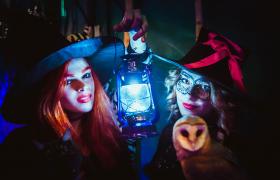 В зоопарке в Vegas Крокус Сити отметили Halloween